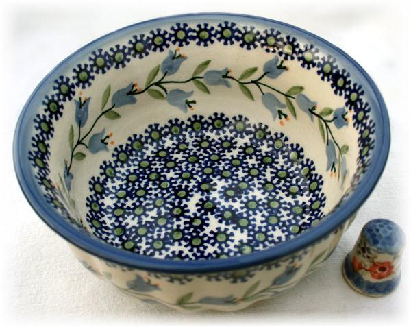 Bunzlauer Keramik Schüssel 15 cm Dekor ASD Handarbeit Neu